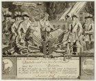 Burgerwachtbriefje met de oproep voor Pieter Brouwer waarin hem 'De wacht wordt …