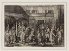 De aankomst van Jacob van Heemskerck en zijn makkers in het stadhuis van Amsterd…