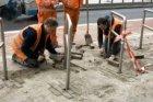 Eerste fase van de vernieuwing van de Westerdoksdijk ter hoogte van de Winthonts…