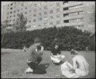 Achtergevel studentenflat Zilverberg, Zilverberg 2 - 66