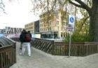 Voetgangersbrug over de Ringvaart van de Linnaeuskade naar de Oranje Vrijstaatka…