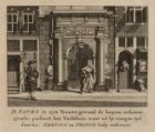 D. Sapma in zyn Vrouws-gewaad, de boeyen ontkomen zynde; passeert het Tuchthuis,…