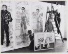 """Manifestatie """"Vrouwen in Verzet"""" in het atelier Februari-collectief op het Haarl…"""