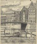 De Pantsemerbrug (Brug 124) over de Egelantiersgracht, gezien vanaf de Prinsengr…