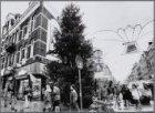 Albert Cuypstraat hoek Ferdinand Bolstraat. Reuzenkerstboom op de Albert Cuypmar…