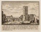 Het Oude Stadhuys van Amsterdam binnen zyne muuraedie verbrant in den Jaere 1652…