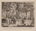 Het plunderen van het huis van A.M. van Arssen, op de Cingel ... etc