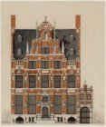 Het Huis met de Hoofden, Keizersgracht 123, ontworpen door Hendrick de Keyser of…