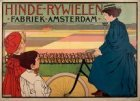 Affiche voor Hinde rijwielen