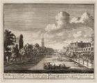 De Keisers-Graft, verby de Schou-burg, van de Huidestraat naar de Wester Kerk