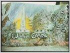 Muurschildering 'Cultural Capital' met onder andere het Nationaal Monument op de…