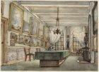 De Prentenkamer van het Rijksmuseum in het Trippenhuis