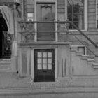 Herengracht 257, stoep en voordeur
