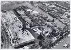 Luchtfoto in oostelijke richting van Kattenburg