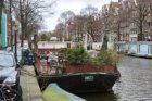 Prinsengracht (t.h.v. nrs.) 96-98 (links) en recreatieboot (3077)
