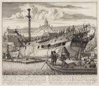 Afbeelding van een schip, leggende voor de Scheeps timmerwerf van d'Oostindise C…