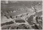 Luchtfoto van het Centraal Station, Stationsplein 5-33, en omgeving gezien in no…