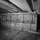 Nieuwe Doelenstraat 24, ondersteund balkenplafond
