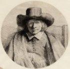 Portret van de prentverkoper Clement de Jonghe (1624/25-1677)