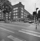 Hoofdweg 67 (ged.) - 79, rechts Corantijnstraat 1 - 13 (ged.), gevels