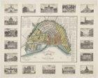Nieuwe platte grond der stad Amsterdam; Nouveau Plan de la Ville d'Amsterdam