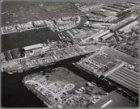 Van onder naar boven: Vlothaven, Minervahaven, Nieuwe Houthaven en Noordzeekanaa…