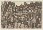 Marktgezicht Nieuwmarkt. Op de achtergrond de ingang van de Dijkstraat en Nieuwm…