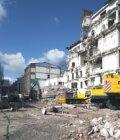 Sloop van het voormalig Emma Kinderziekenhuis, Sarphatistraat 102-104, gezien va…