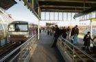 Metroperron van Station Amsterdam RAI aan de Europaboulevard