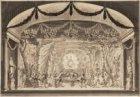 Het toneel van de oude schouwburg, Keizersgracht 384, die op 11 mei 1772 afbrand…