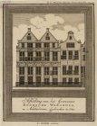 Afbeelding van het Gewezene Roomsche Weeshuis, te Amsterdam, afgebrooken in 1785