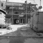 Willaertstraat 35 - 41, voorgevels, met een poort naar het binnenterrein