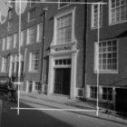 Eerste Weteringdwarsstraat 19-35, Grill's Hofje, voorgevels met het poortgebouw