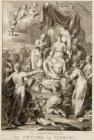 Titelprent van Jan Wagenaars 'Amsterdam, in zyne opkomst, aanwas, geschiedenisse…
