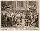 Ceremonie nuptiale des Juifs Allemands