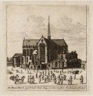 De Nieuwe Kerck, Afgebrand Anno 1645.en.ten.eersten Herbouwt Ao.1648