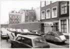 Buiten Brouwersstraat en op de achtergrond Haarlemmer Houttuinen 12