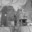 Karthuizersstraat 9 (zijgevel) - 15 (ged.) v.r.n.l., achtergevels gezien vanaf s…