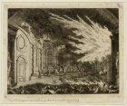 De Schouwburg tot Amsterdam in brand op den 11e mei 1772