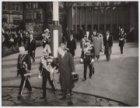 Bezoek keizer Haile Selassie van Ethiopie, kranslegging bij het Nationaal Monume…