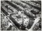 Luchtfoto van de Westermarkt en omgeving gezien in noordoostelijke richting