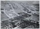 Luchtfoto van de Jan van Galenstraat  (rechts onder) en omgeving gezien in noord…