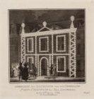 Afbeelding der Illuminatie voor het Generaale Post-Comptoir der Stad Amsterdam .…