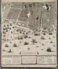 Blad 5 (midden onder) van de 2e uitgave van de kaart van stadsarchitect Daniel S…