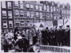 Werkbezoek koningin Juliana aan de Kinkerbuurt, Borgerstraat
