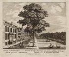 De Achter-Gracht, siende langs de Ossemarkt; naar de Binnen-Amstel