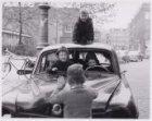 Autowrak op de Kattenburgerkade
