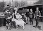 Heropening van kinderboerderij De Uilenburg in het Rembrandtpark