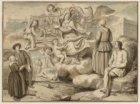 Allegorie op de Nederduits-Hervormde Diaconie