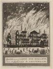 Brand van ''s Lands Zee-Magazyn, den 6 Julij 1791 te Amsterdam